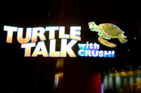 Turtle Talk with Crush at Disney California Adventure Park