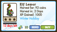 Elf Lemur Market Info