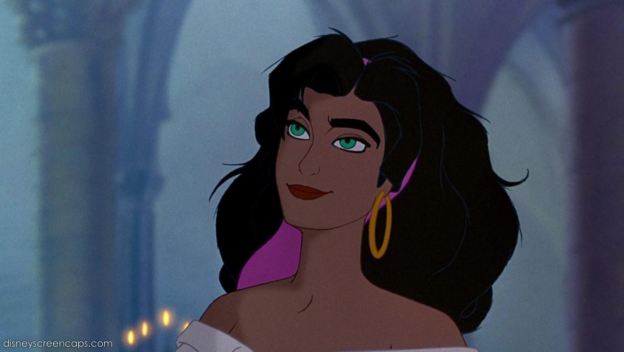 Esmeralda Hunchback of Notre Dame Disney