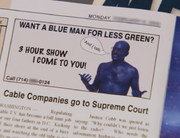 Tobias Blue Man For Less Green AD