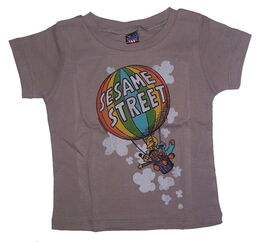 Junk food sesame street balloon shirt