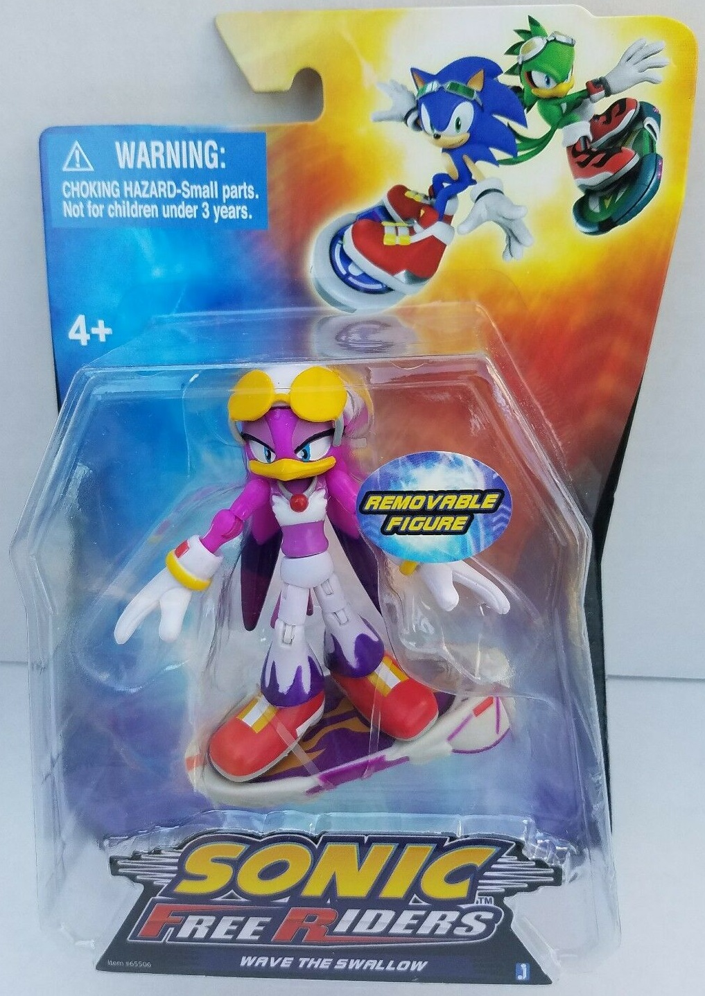 Sonic-Free-Riders-wave-Figure