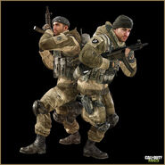 Russian soldier Survival Special Ops Modern Warfare 3