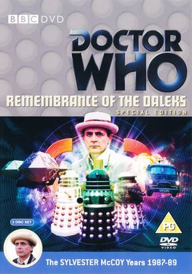 Remembrance of the daleks special edition uk dvd