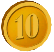 Pre-Alpha Gold Coin &#39;&#39;10&#39;&#39;