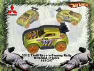 2012 Thrill Racers-Swamp Rally Mitsibishi Pajero
