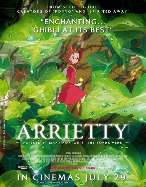 Image the secret world of arrietty jpg wikia entertainment