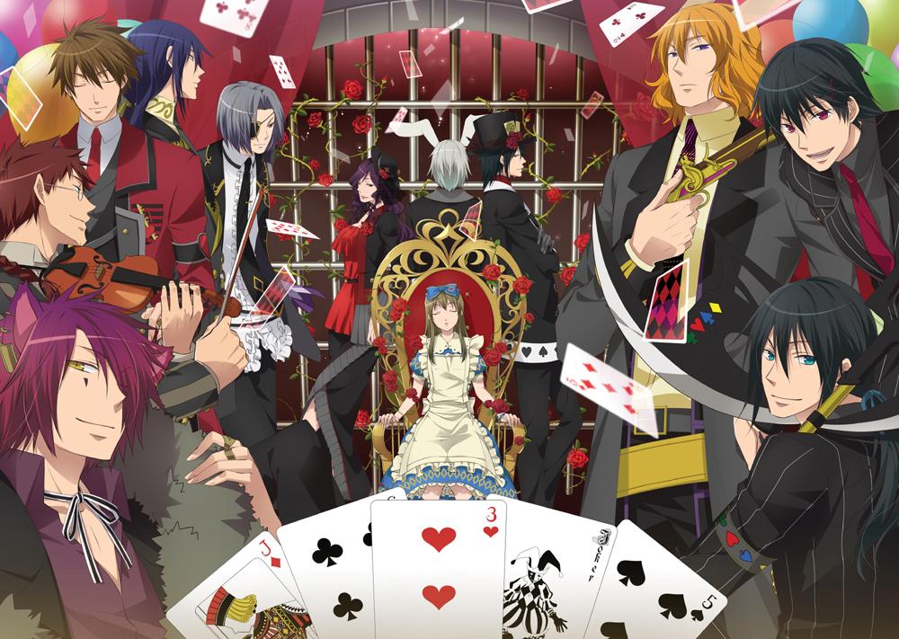Heart No Kuni No Alice: Wonderful Wonder World Alice In The Country Of Hearts
