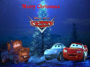 Disney PIXAR Cars in Christmas