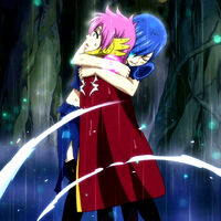 Juvia Hugs Meredy