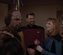 Parallels, Worf anniversaire