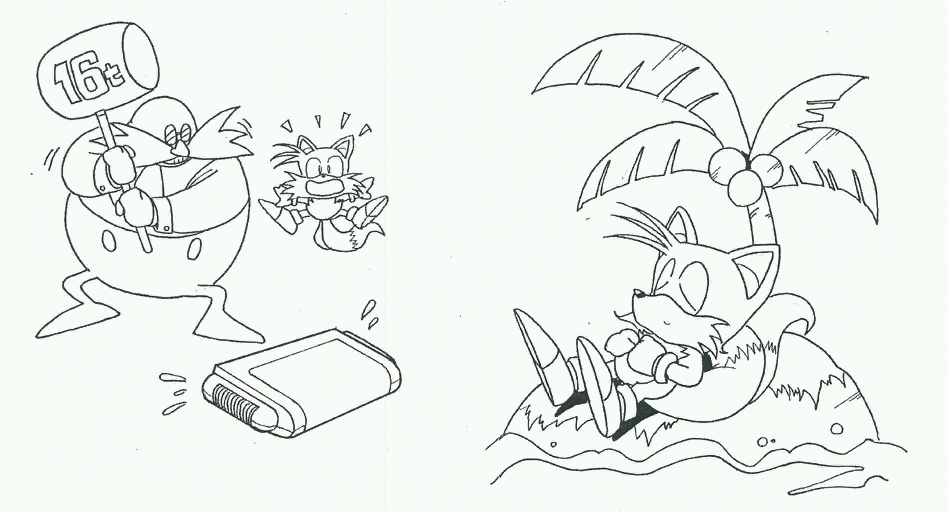 sonic satam coloring pages - photo#33