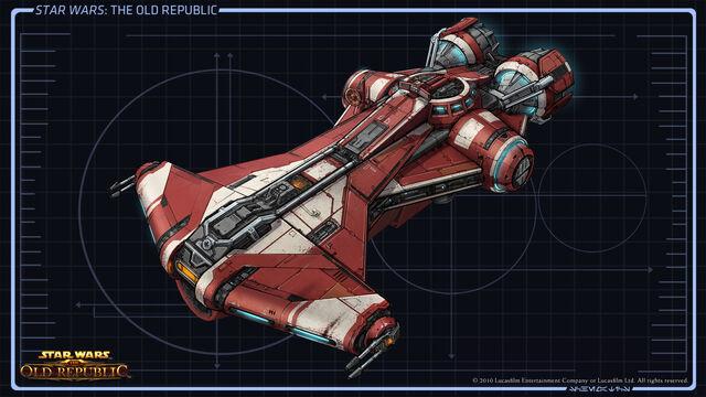 1. Planos de Naves Pequeñas. 640px-CA_Jedi_Ship03_full