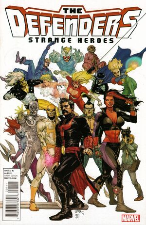 Defenders Strange Heroes Vol 1 1