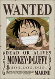 Wanted de Luffy