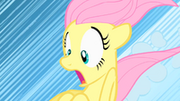 Fluttershy sliding on clouds S1E23