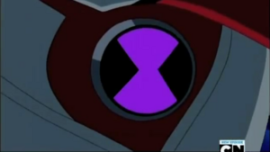 O Superomnitrix! Está virando roxo.png
