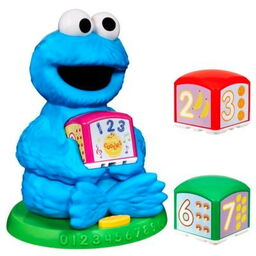 Cookie monster learning blocks