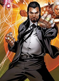 Mandarin (Earth-616) from Invincible Iron Man Vol 1 511 cover
