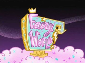 Fairy World Sign