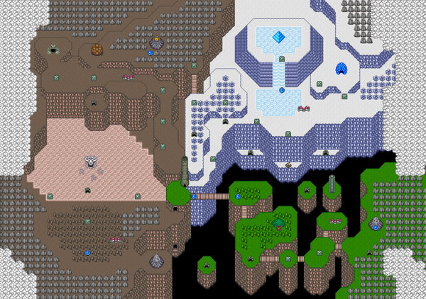 Mystic Quest Map 1