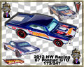 2012 HW Racing 67 Pontiac GTO