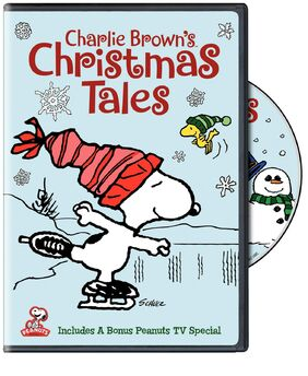 Charlie Browns Christmas Tales Box Art 2D