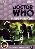 Genesis of the daleks netherlands dvd