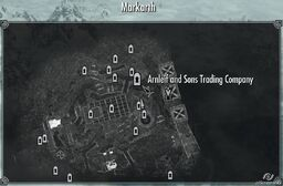 Arnleif and Sons Trading Company map skyrim