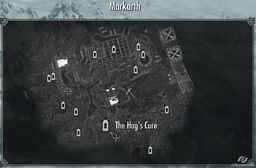 The Hags Cure map Skyrim