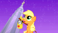 Filly Applejack in Manehattan 1 S01E23