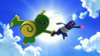 EP608 Politoed vs Croagunk (2)