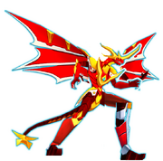 The Mighty Q&#39;s Guadian Bakugan - Shadow Dragonoid