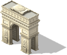 Parisian Arch-SW