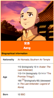 Avatar infobox