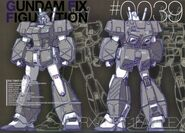 GFF - RX78NT1FA Full Armor Gundam Alex