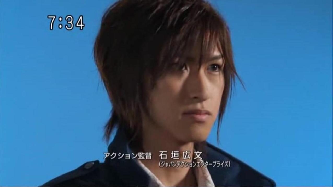 As Ryunosuke Ikenami in Samurai Sentai ShinkengerRyunosuke Ikenami
