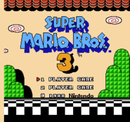 Super Mario Bros 3 (Title Screen)