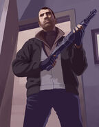 Niko Bellic Artwork