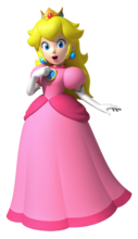 Princess Peach NSMBW