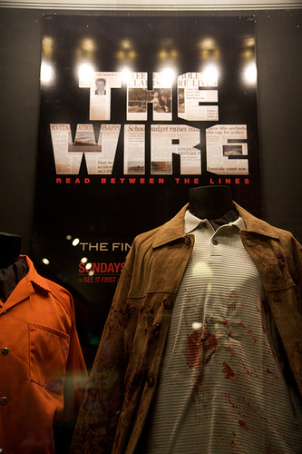 """The Wire"" display"