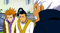 Jet and Droy are reprimanded by Elfman