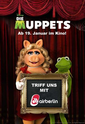 DieMuppets-GermanContest-MeetKermit&amp;PiggyWithAirBerlin-(2012)