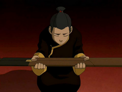 Sokka accepts his space sword