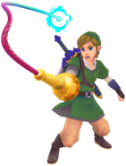 Using the Whip (Skyward Sword)