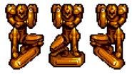 Samus statue KSS