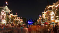 Main Street USA of Disneyland