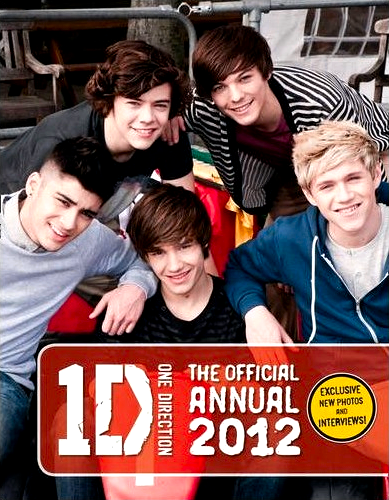 One direction the official annual 2012 one direction wiki