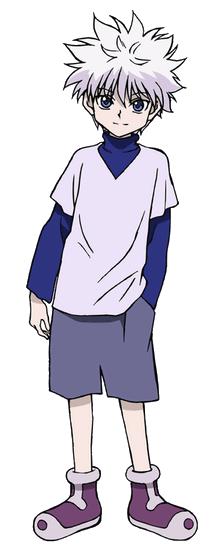 Personagens preferidos Killua-2011