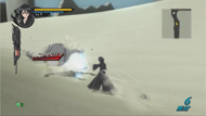 Rukia defeats Arrancar with Kido episode 5 SR